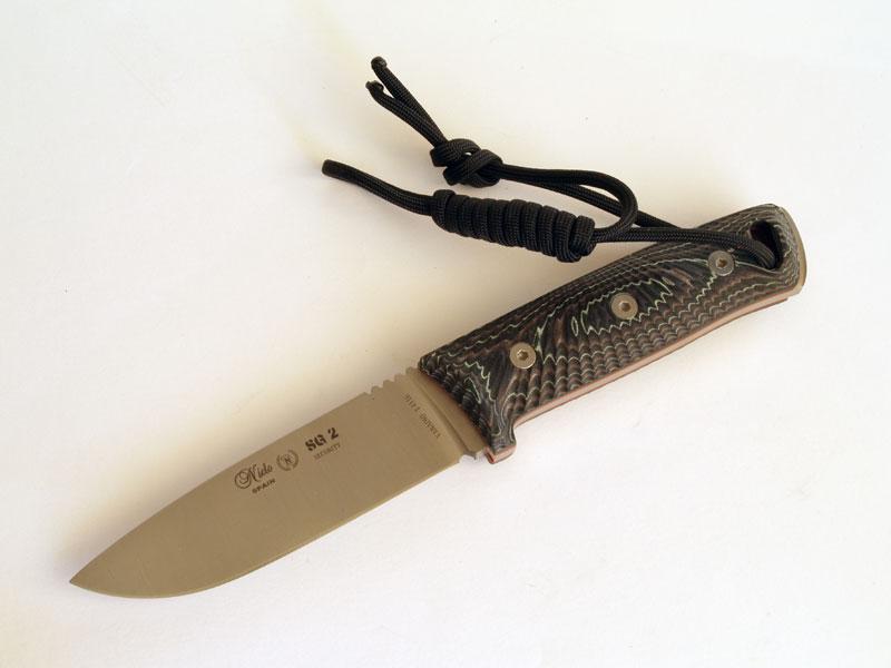 Cuchillo de supervivencia Miguel Nieto SG-2