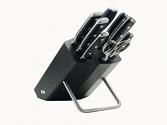 Juego de 8 cuchillos de cocina Wüsthof XLine (negro)