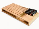 Bloque de cajón para 7 cuchillos Wüsthof