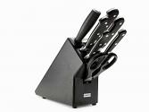 Juego de cocina de 7 piezas negro Wüsthof Classic