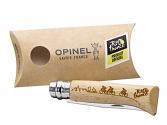 Navaja Opinel Nº 8 Tour de Francia (grabada)